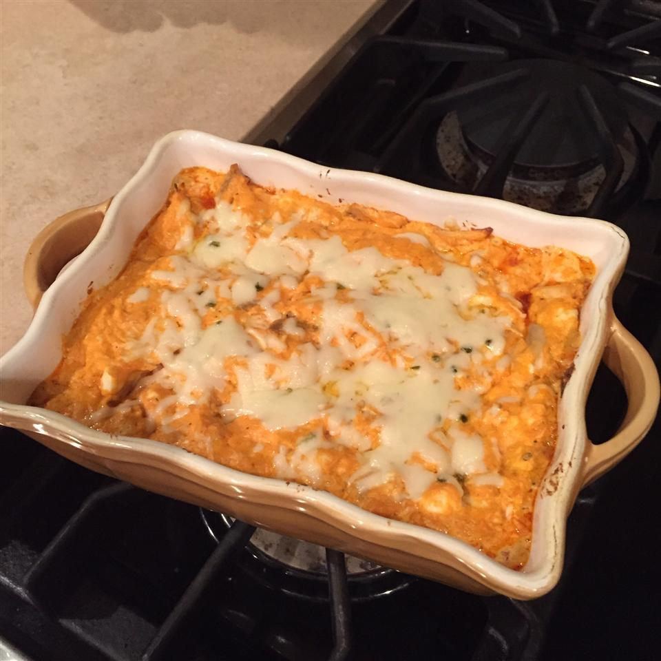 Baked Buffalo Chicken Dip andcook1