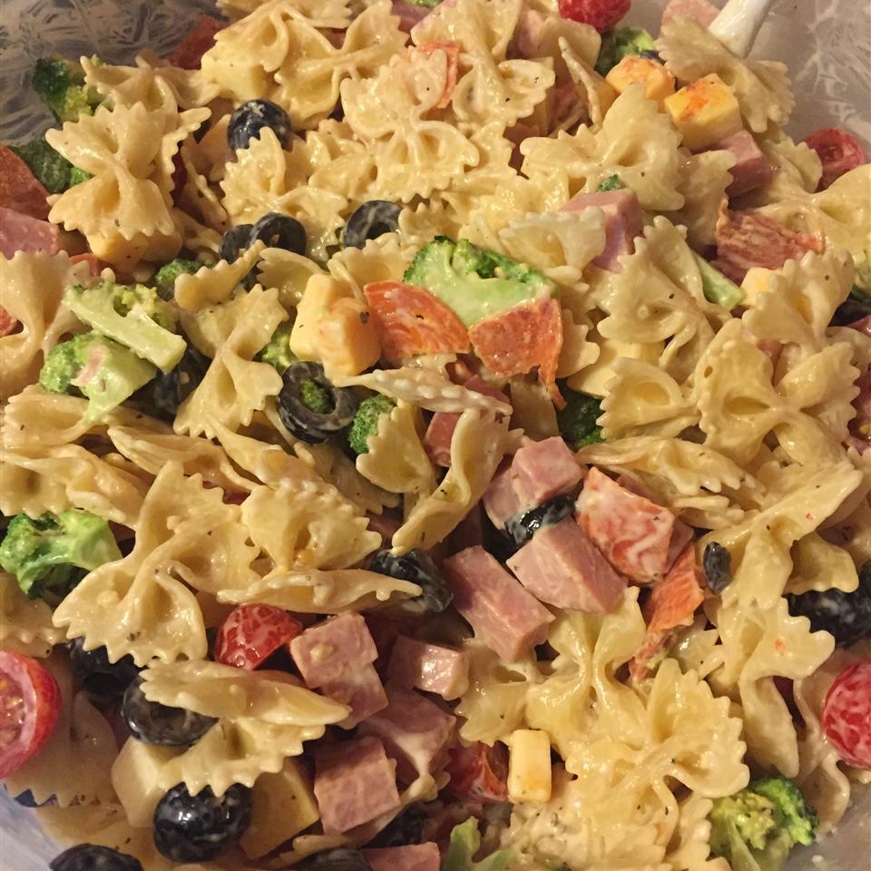 Creamy Italian Pasta Salad Recipe Allrecipes