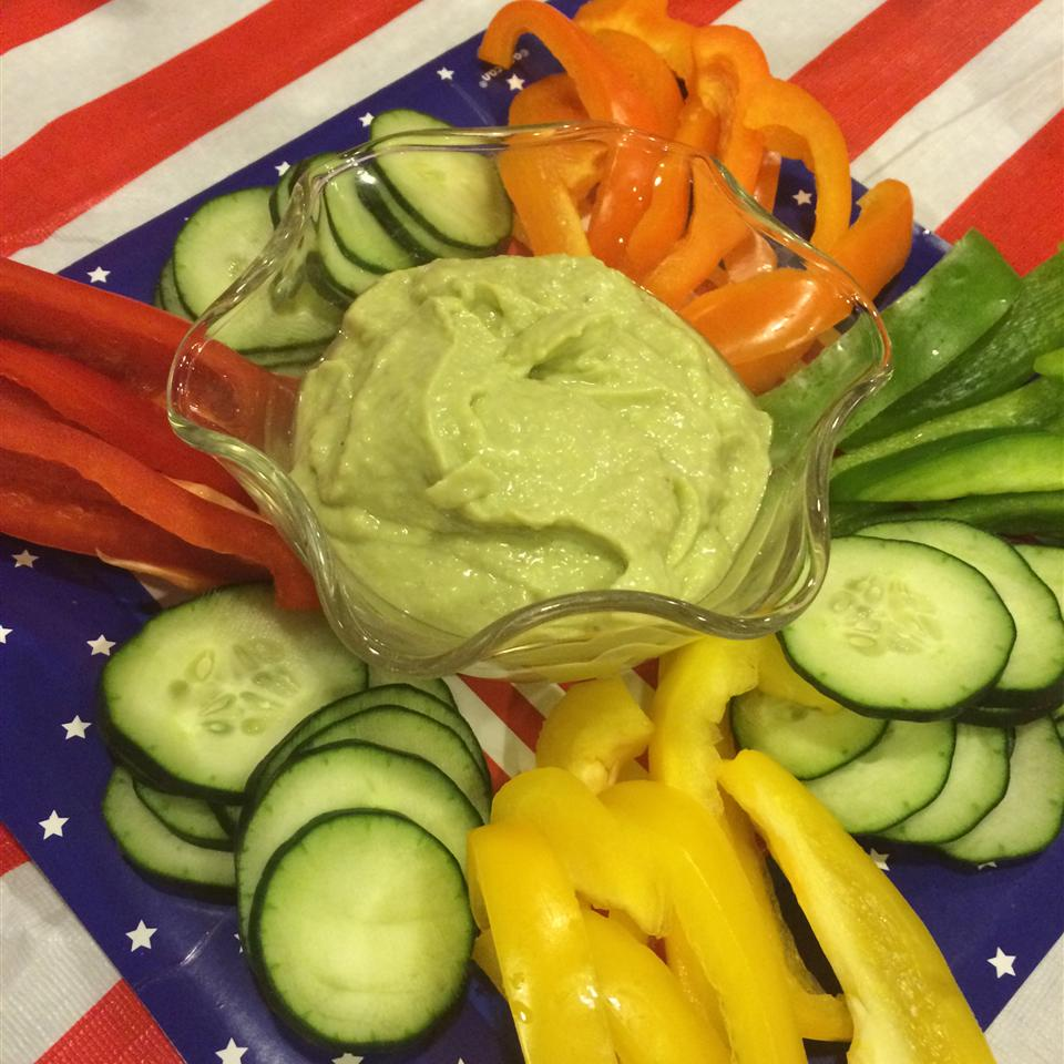 Cool-as-a-Cucumber Avocado Dip