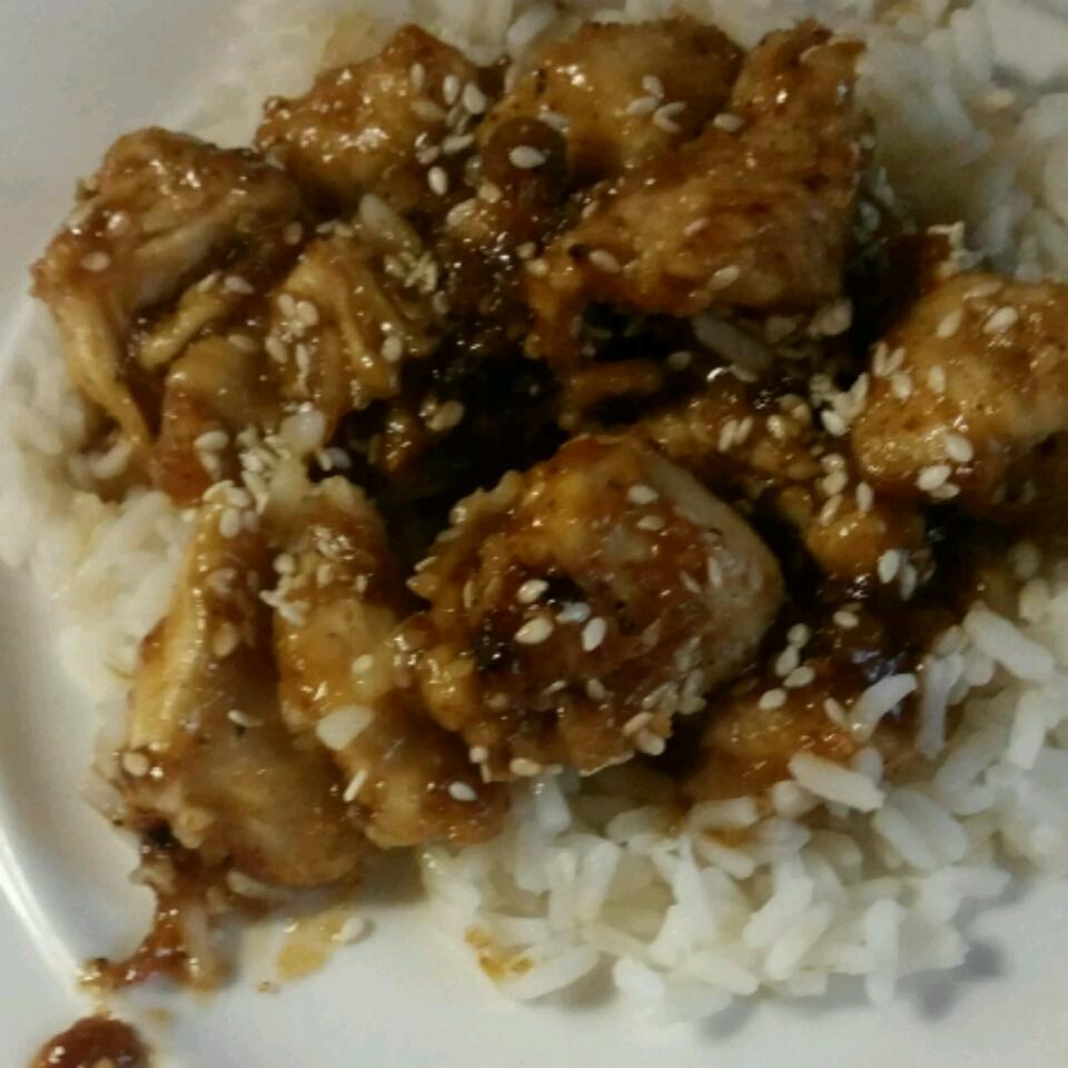Amber's Sesame Chicken Kimberly Collins