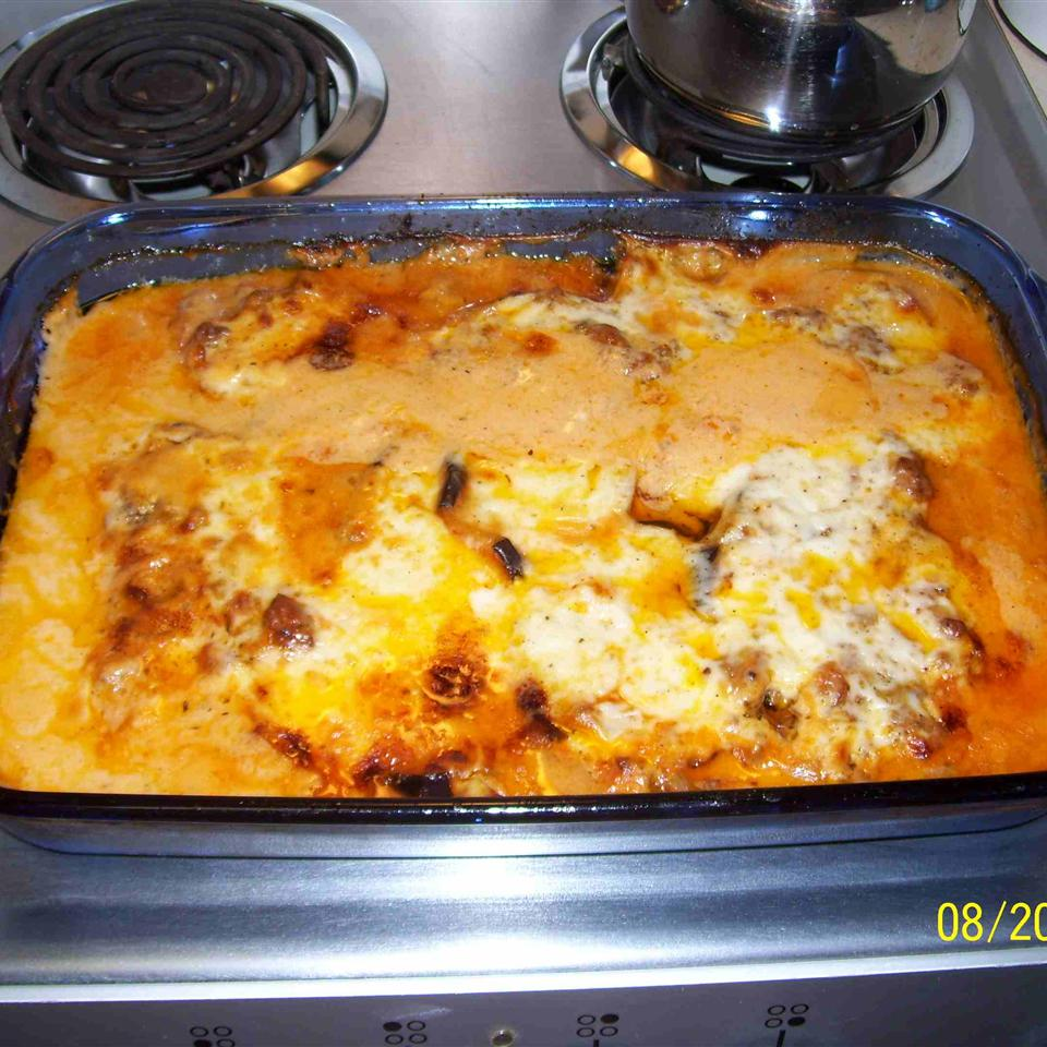 Grilled Eggplant Moussaka