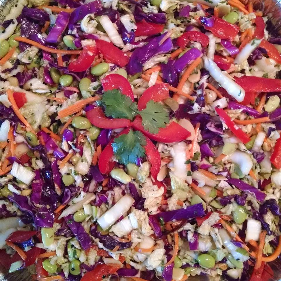 Asian Coleslaw with Edamame