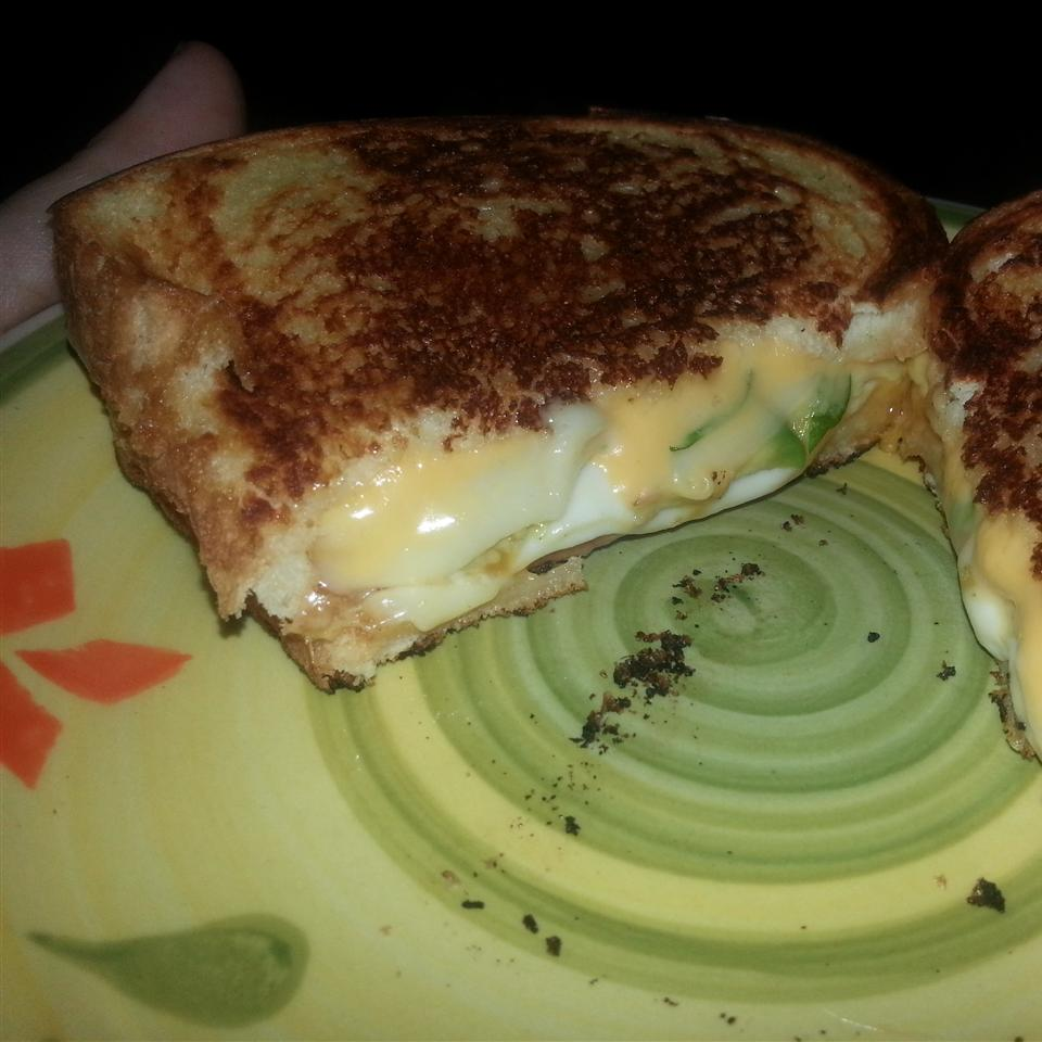 Grown Up Grilled Cheese Sandwich Suzanne Elizabeth Mastaw