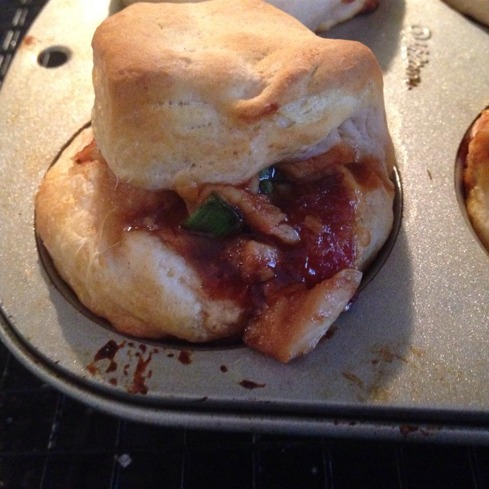 BBQ Chicken and Bacon Bread 2ys4you