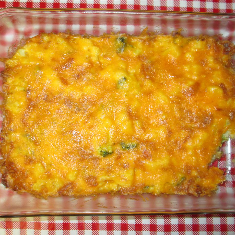 Broccoli Cauliflower Casserole Michelle Hopper Van Nus