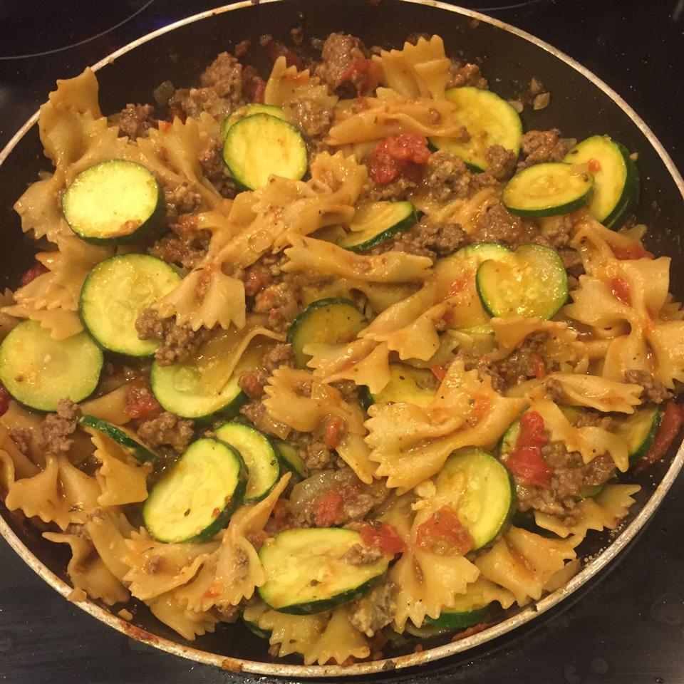 Beef and Parmesan Pasta