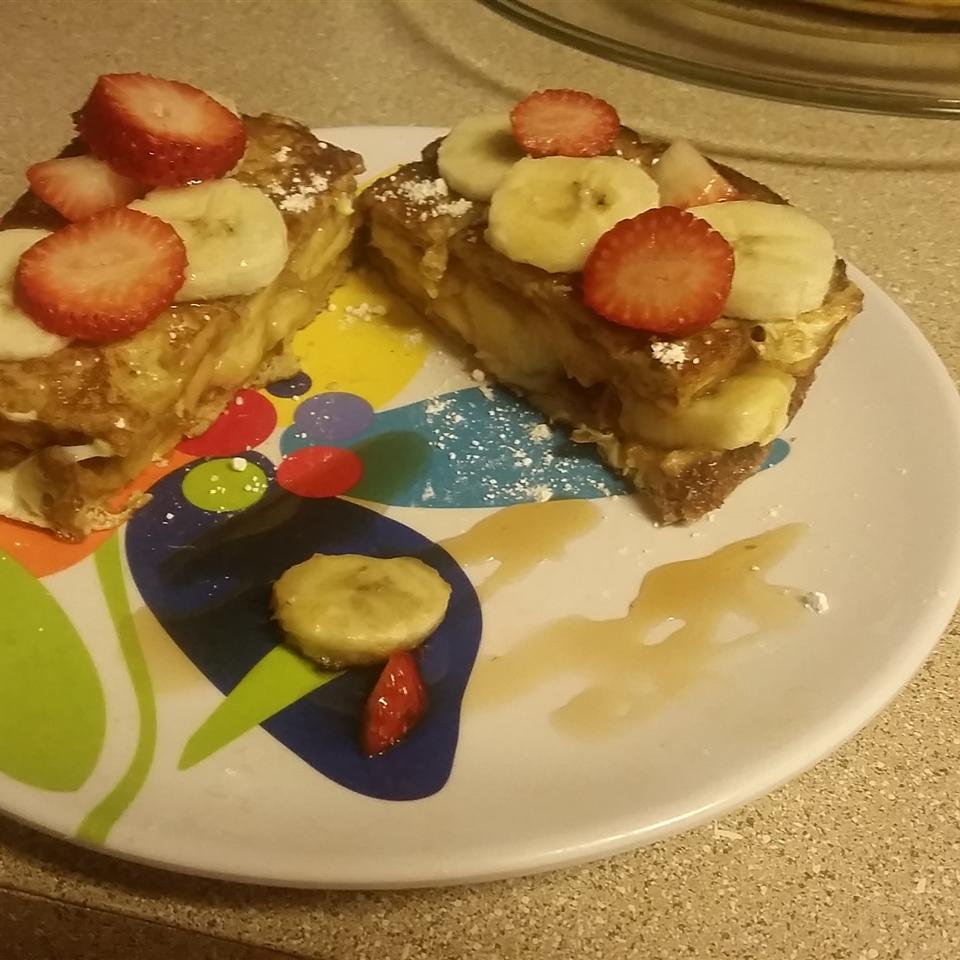 Peanut Butter and Banana French Toast Sarah