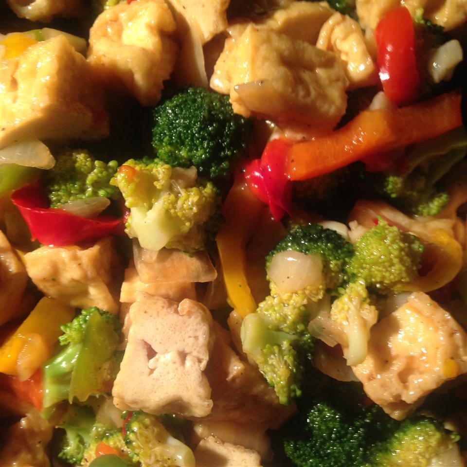 Broccoli and Tofu Stir Fry litas canteen