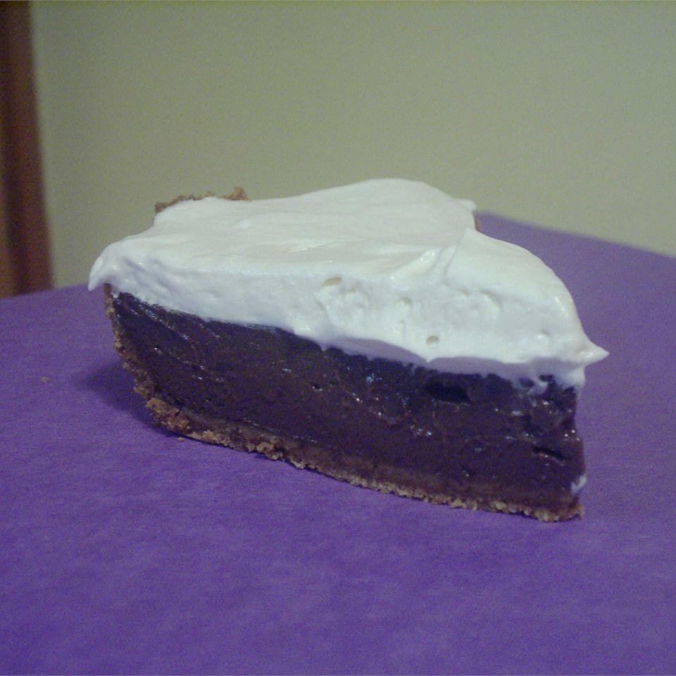 Easy Chocolate Tofu Pie