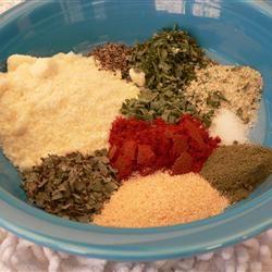 Misti's Dried Herb Salad Seasoning