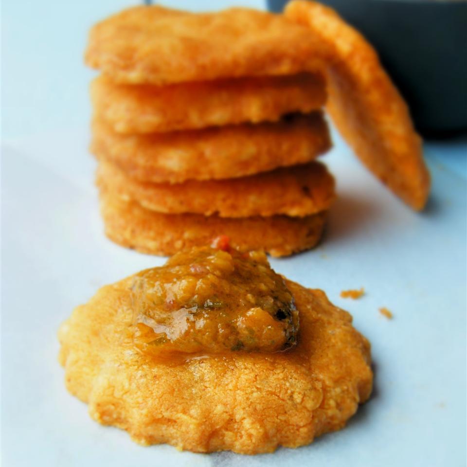 Gluten-Free Cheese Crackers Chef Sprocket