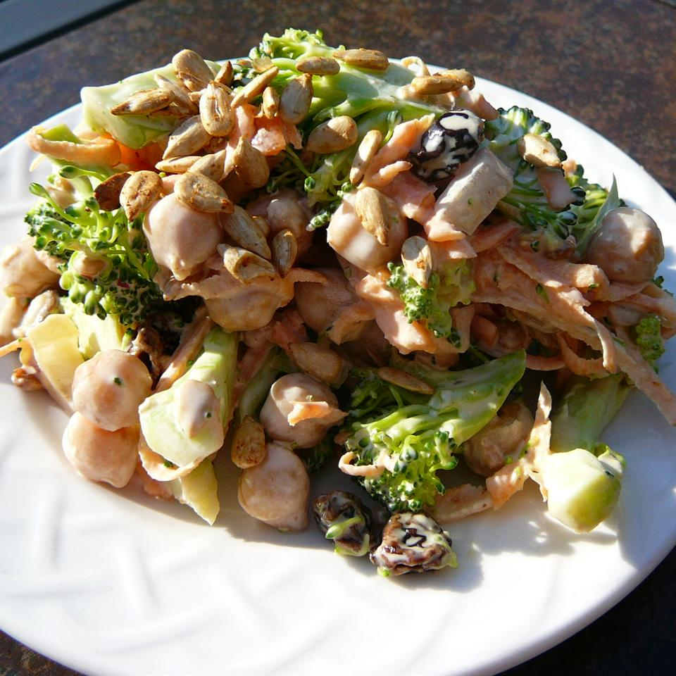 Trees, Seeds, and Beans (Broccoli Slaw)