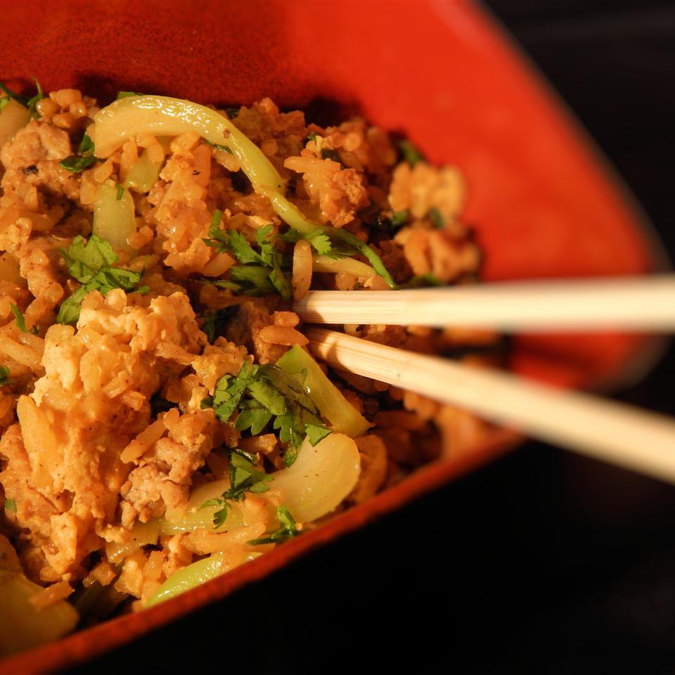 Fried Rice with Marmite(R) smashboombang