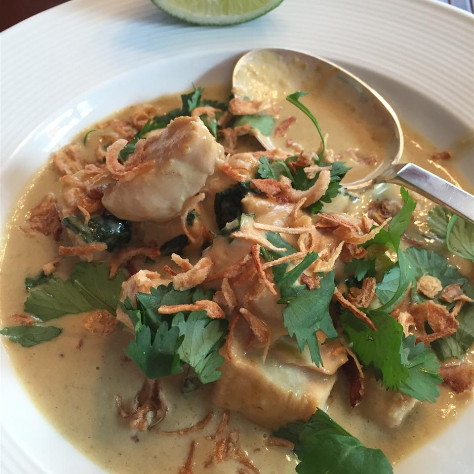 Thai Green Curry Chicken laus