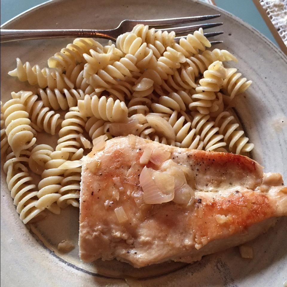 Pan-Seared Chicken Breasts with Shallots