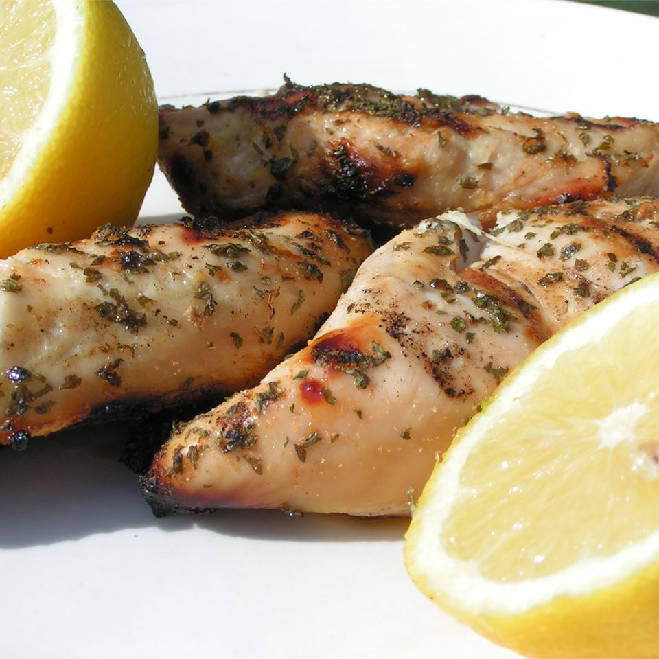Jenny's Grilled Chicken Breasts Jenny English
