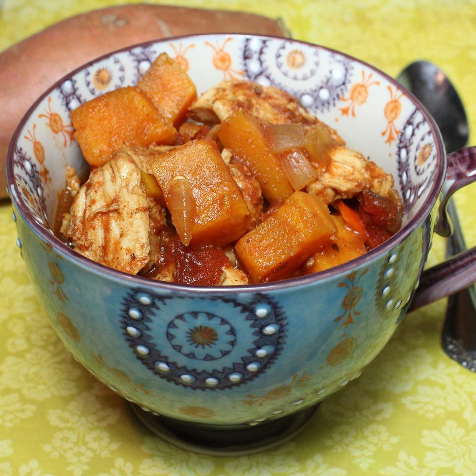 Spicy Chicken and Sweet Potato Stew Paula