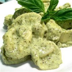 Basil Cream Sauce