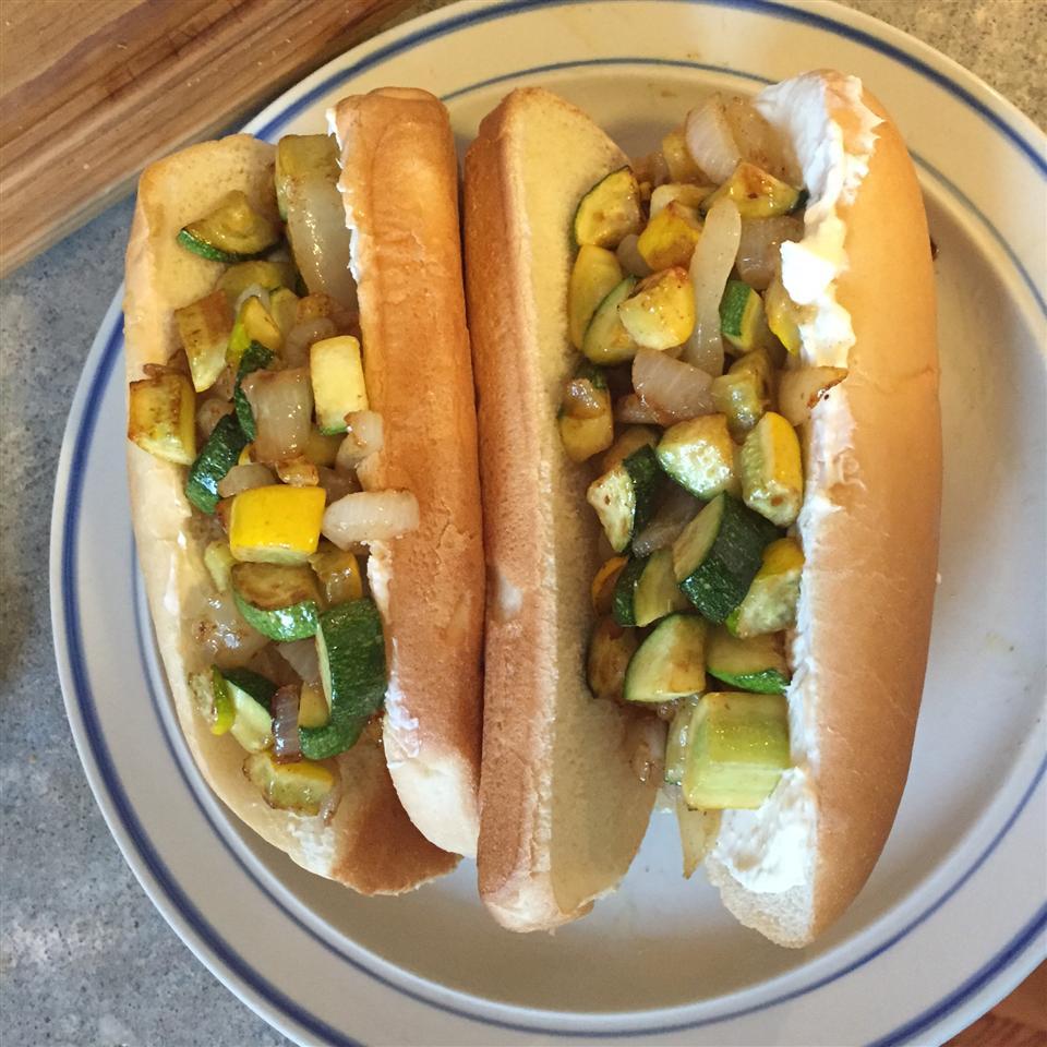 Fabulous Zucchini Grinders Amy