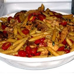 Balsamic Chicken and Pasta Katherine