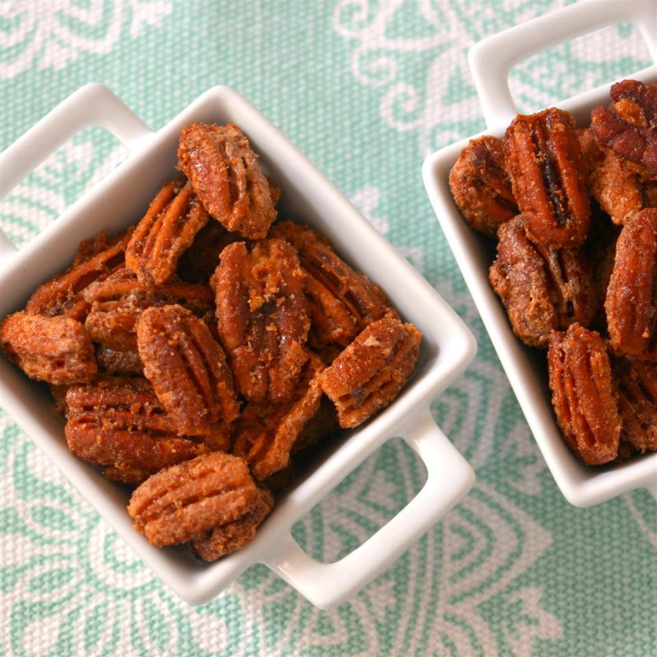 Cinnamon Sugared Pecans_image