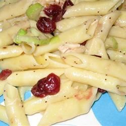 Lemon Poppy Seed Chicken Pasta Salad