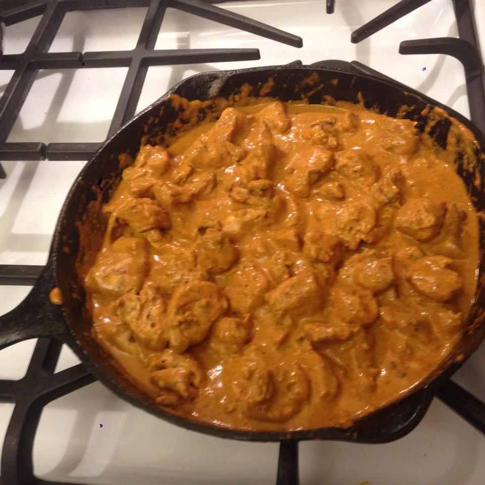 Chicken Tikka Masala cornbreadjr