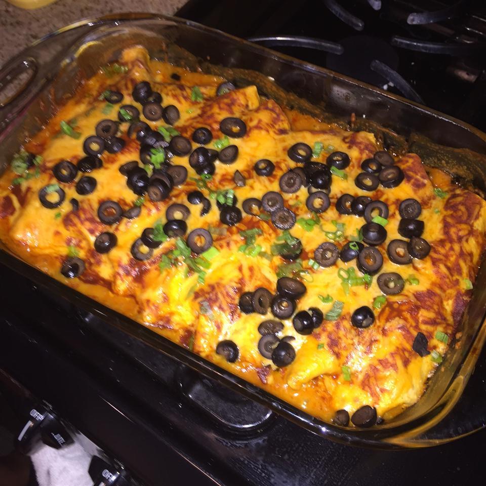 Quick Chicken Enchiladas danja