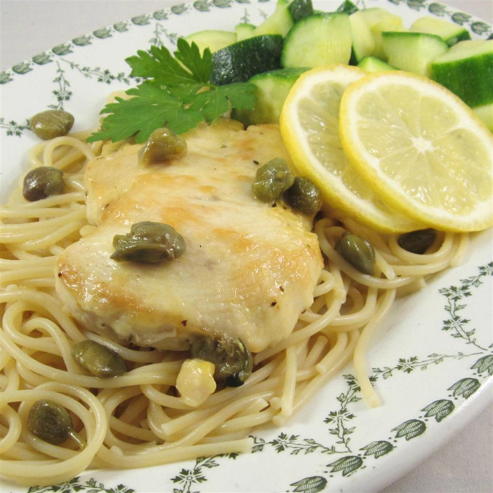 Chicken Piccata with Fettuccine Deb C