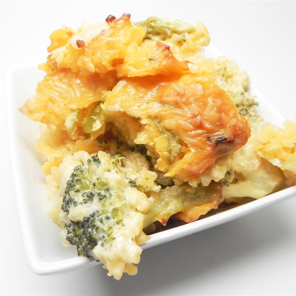 Meme Wales' Broccoli Rice Casserole