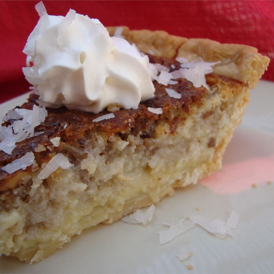 French Coconut Pie - Printer Friendly