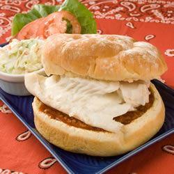 Baked Fish Sandwiches bearcowski
