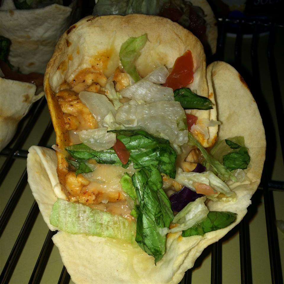 Mini Cheesy Chicken Enchiladas ariel
