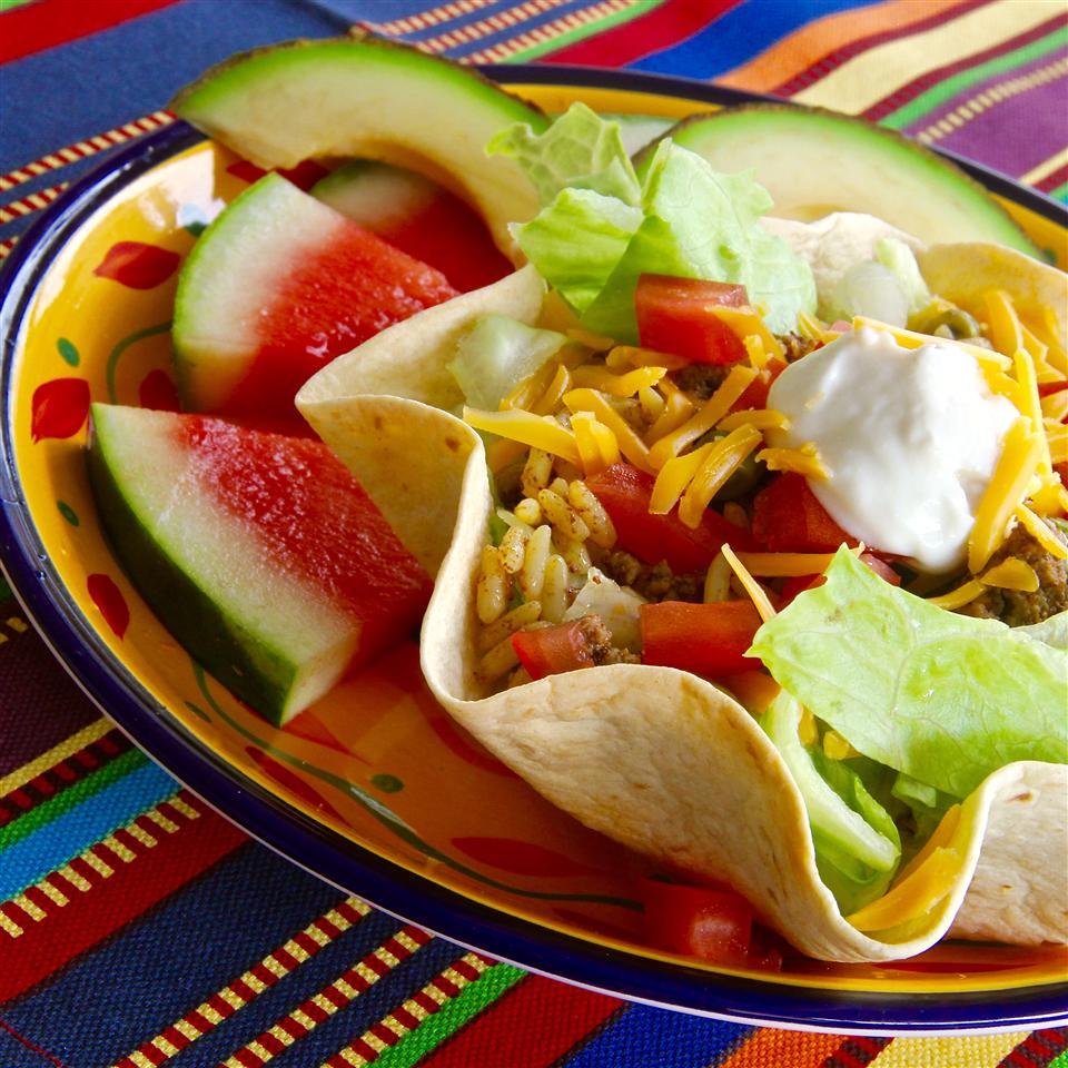 Taco Rice Bake image