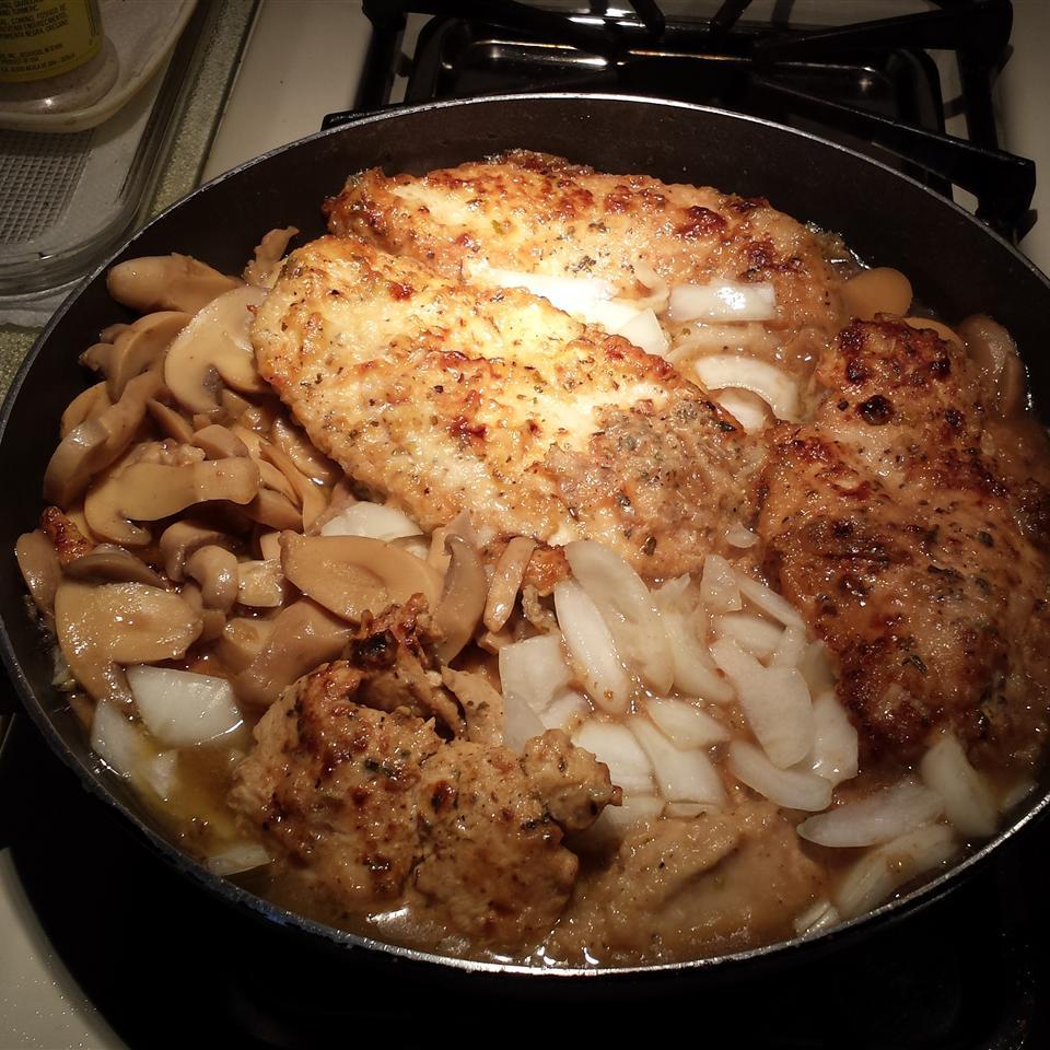 Chef John's Chicken Marsala Shelsie Datilus