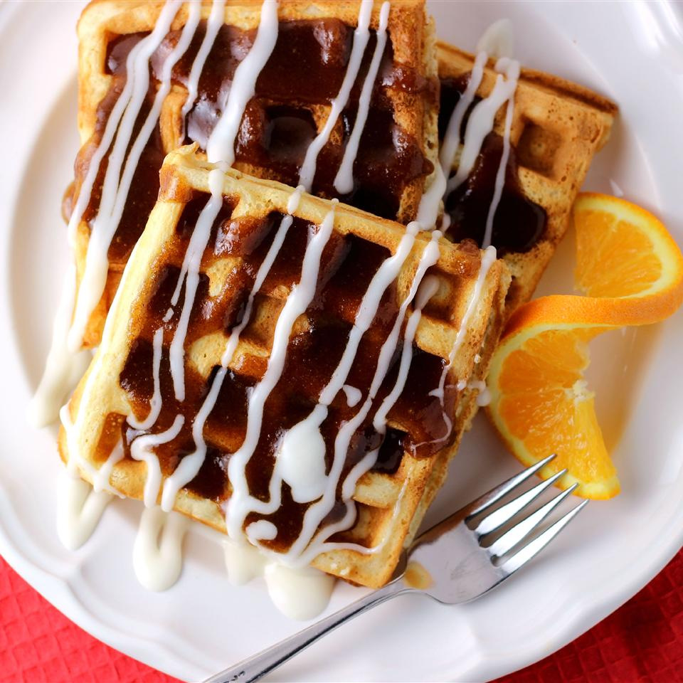 Cinnamon Roll Waffles_image