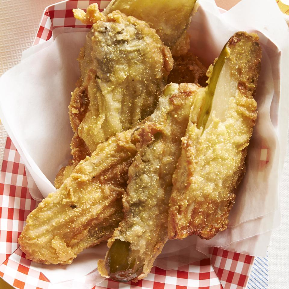 Deep Fried Dill Pickles Allrecipes Magazine