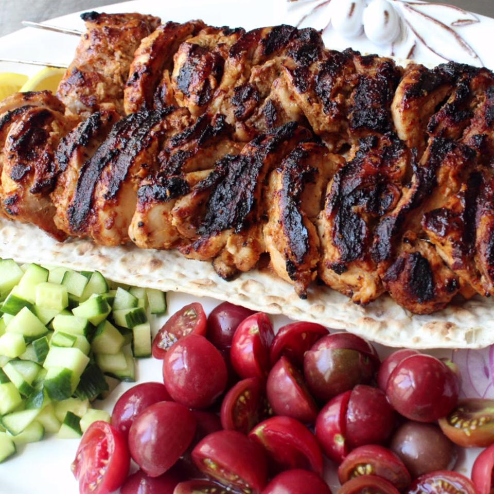 Turkish Chicken Kebabs Recipe