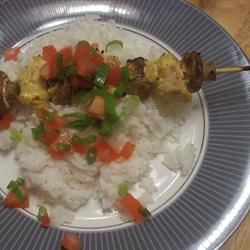 Curry Kabobs