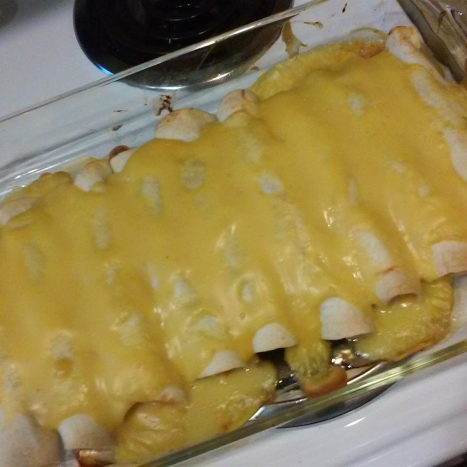Quick Chicken Enchiladas Tymira Danielle