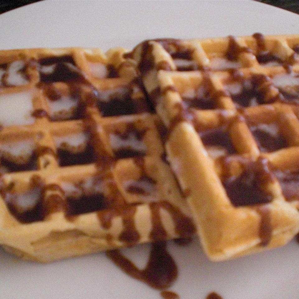 Michele's Cinnamon Roll Waffles the4taals