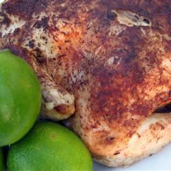 Caribbean-Spiced Roast Chicken
