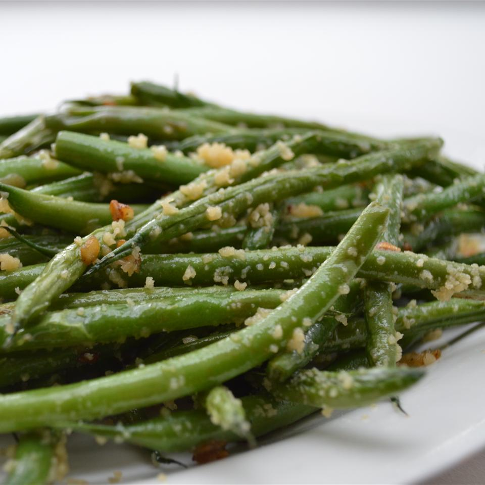 Garlicky Green Beans with Shallot_image