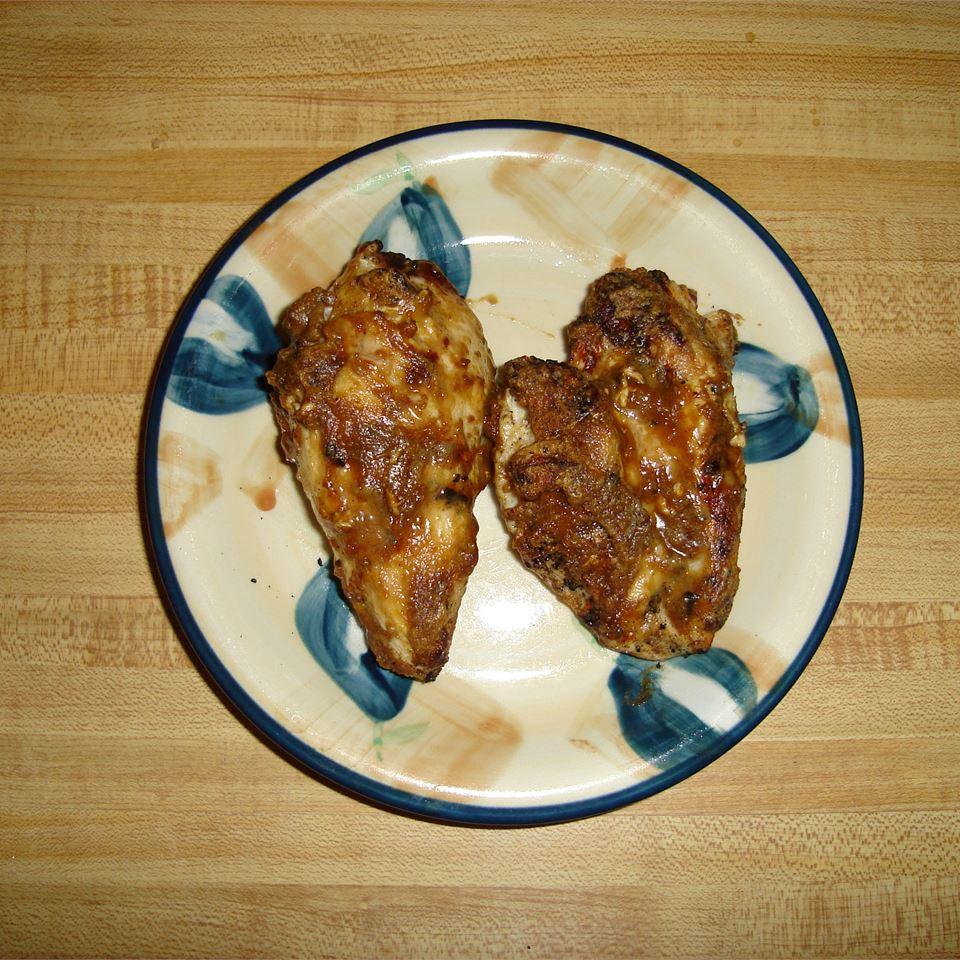 Grilled Peanut Chicken
