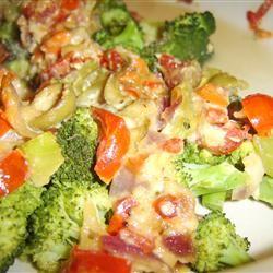 Broccoli and Tomato Bake Eliot