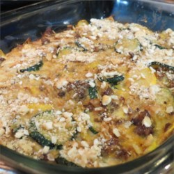 Spicy Squash Casserole Recipe