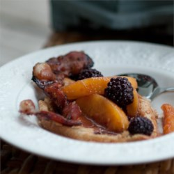 Spiced Blackberry and Peach Compote Recipe