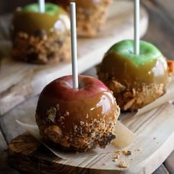 Photo of Butterfinger Caramel Apples by Butterfinger