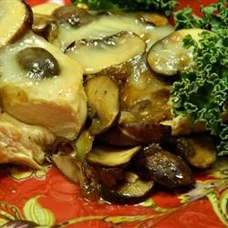 Sherry Chicken and Mushrooms Recipe