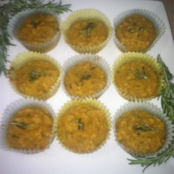 Savory Lower-Carb Butternut Squash Muffins Recipe